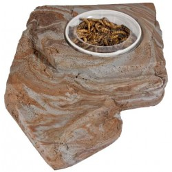 Worm Feeder Rock - LG (Pet-Tech)