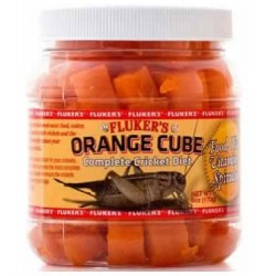 Orange Cube - 6 oz (Fluker's)