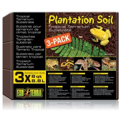 Plantation Soil - 3 Bricks 8 qt (Exo Terra)