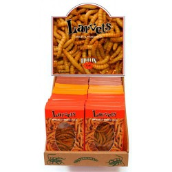 Larvets - Assorted Flavors - 1 Box (HOTLIX)