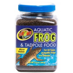 Frog & Tadpole Food - 12 oz (Zoo Med)