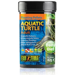 Aquatic Turtle Floating Pellets - Adult - 1.4 oz (Exo Terra)