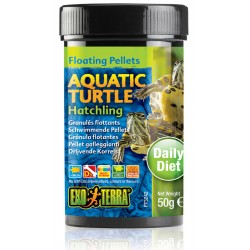 Aquatic Turtle Floating Pellets - Hatchling - 1.7 oz (Exo Terra)