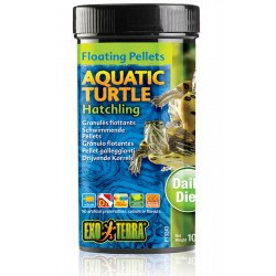 Aquatic Turtle Floating Pellets - Hatchling - 3.7 oz (Exo Terra)