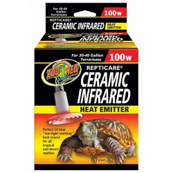 Ceramic Infrared Heat Emitter - 100w (Zoo Med)