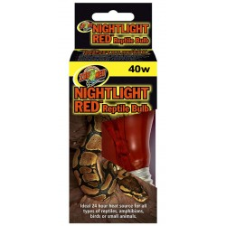 Nightlight Red Reptile Bulb - 40w (Zoo Med)