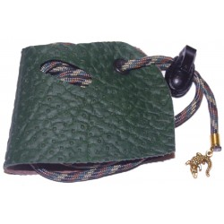Lizard Leash - Forest Perforated - SM (Drag-a-Longs)