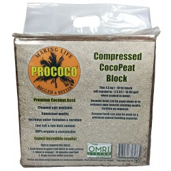 Compressed CocoPeat Block (ProCoco)