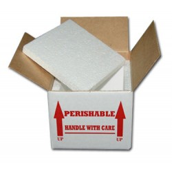 "Insulated Reptile Shipping Boxes (3/4"" Foam)"
