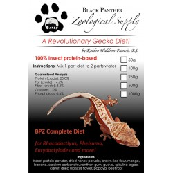 BPZ Gecko Diet - 500g (Black Panther Zoological)