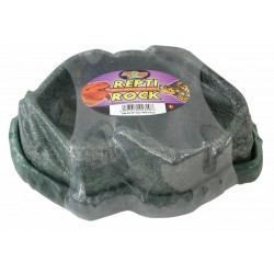 Repti Rock Reptile Food & Water Dishes - LG (Zoo Med)
