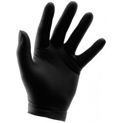 Disposable Black Nitrile Gloves (Grower's Edge)