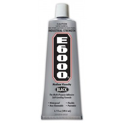 E6000 - Black - 3.7 oz (Eclectic Products)