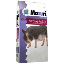 Mini Pig - Active Adult - 5Z91 - 25 lb (Mazuri)