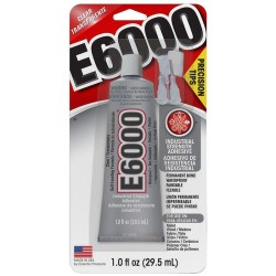 E6000 - Clear - 1 oz (Eclectic Products)
