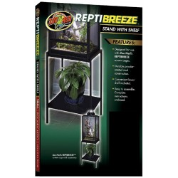 Reptibreeze Stand w/ Shelf - SM (Zoo Med)