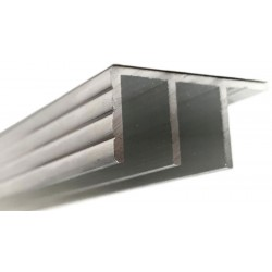 Sliding Glass Door Track - Silver - Top (RSC)