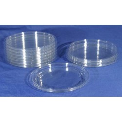 Crystal Clear Deli Cup Lids - 500ct (pinnPACK)