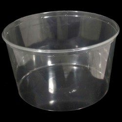 190 oz Clear Deli Cup - Punched (PWP)