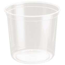 Hornworm Deli Cups - 24 oz (Placon)