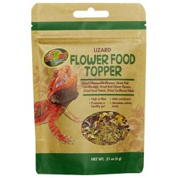 Flower Food Topper - Lizard - .21 oz (Zoo Med)