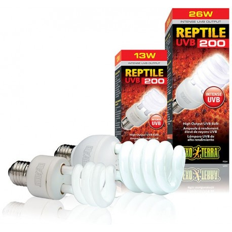 Reptile UVB 200 - 26w (Exo Terra)