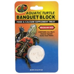 Aquatic Turtle Banquet Block - Regular (Zoo Med)
