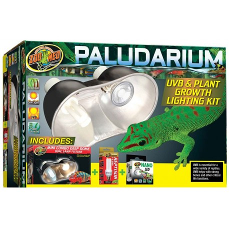 Wholesale Zoo Med Paludarium Uvb Amp Plant Growth Lighting Kit