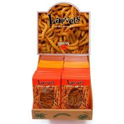 Larvets - Cheddar Cheese - RETAIL BOX (HOTLIX)
