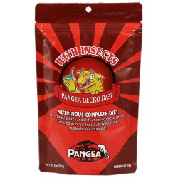 Pangea Gecko Diet w/ Insects (64 oz)
