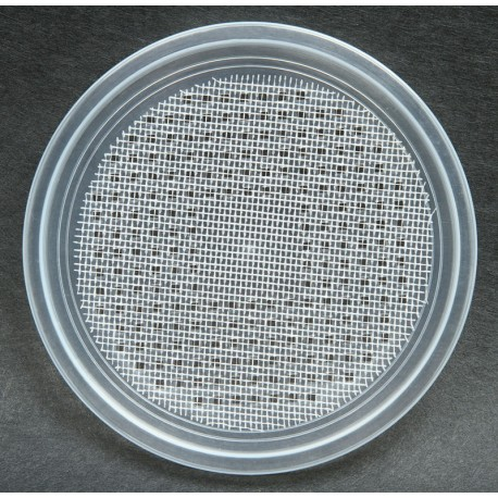 """4.5"""" Deli Cup Lids - Wire Screen Waffle - 100ct (Pro-Kal)"""