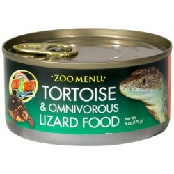 Tortoise & Omnivorous Lizard Food - 6 oz Can (Zoo Med)