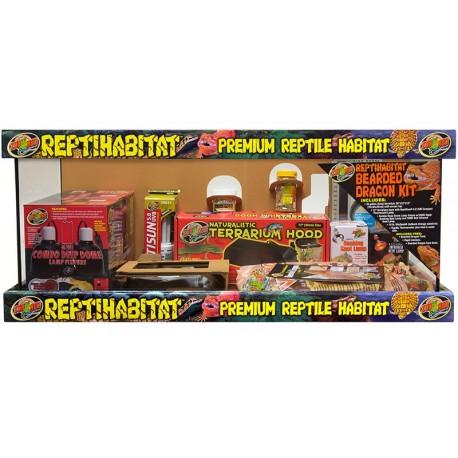 ReptiHabitat Bearded Dragon Kit - 20 gal (Zoo Med)