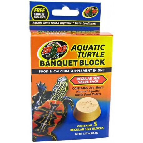 Aquatic Turtle Banquet Block - 5 pk (Zoo Med)