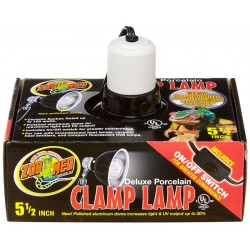 "Clamp Lamp - 5.5"" (Zoo Med)"