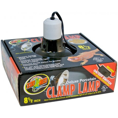 """Clamp Lamp - 8.5"""" (Zoo Med)"""