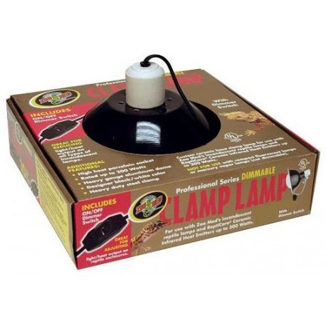 "Dimmable Clamp Lamp - 8.5"" (Zoo Med)"