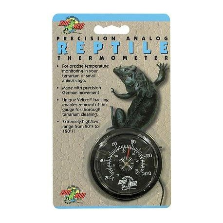 Analog Reptile Thermometer (Zoo Med)