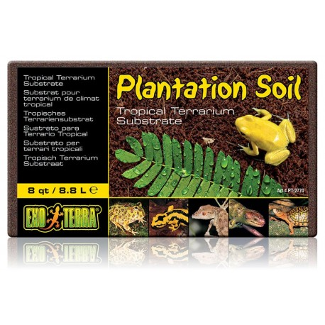 Plantation Soil - Brick 8 qt (Exo Terra)