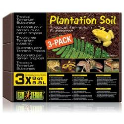 Plantation Soil - 3 Bricks 8 qt (Exo Terra)