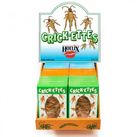 Crick-ettes - Salt & Vinegar - 1 Box (HOTLIX)