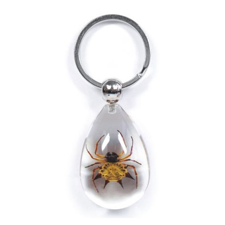 Keychain - Spiny Spider (Clear)