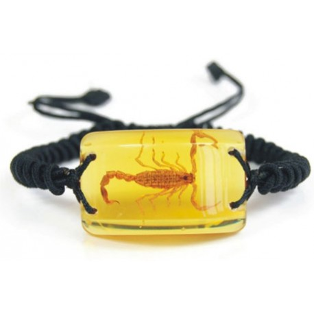 Bracelet - Yellow Scorpion (Amber)