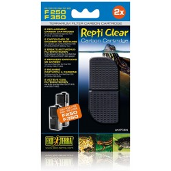 Repti Clear F250/F350 Carbon Cartridges (Exo Terra)