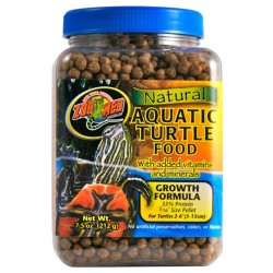 Aquatic Turtle Food - Growth - 7.5 oz (Zoo Med)