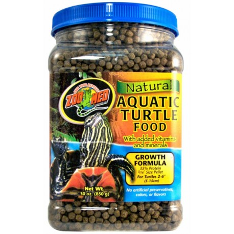 Aquatic Turtle Food - Growth - 30 oz (Zoo Med)