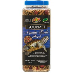Gourmet Aquatic Turtle Food - 12 oz (Zoo Med)