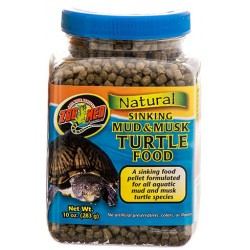 Sinking Mud & Musk Turtle Food - 10 oz (Zoo Med)