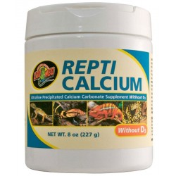 Repti Calcium w/o D3 - 8 oz (Zoo Med)