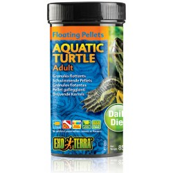 Aquatic Turtle Floating Pellets - Adult - 2.9 oz (Exo Terra)